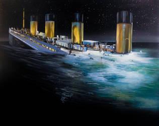 Work in progress - Titanic by Vikkihastings1987