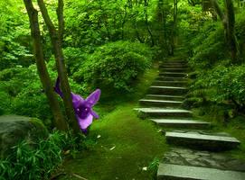 Espeon: Natural Habitat by Arcane-Toaster