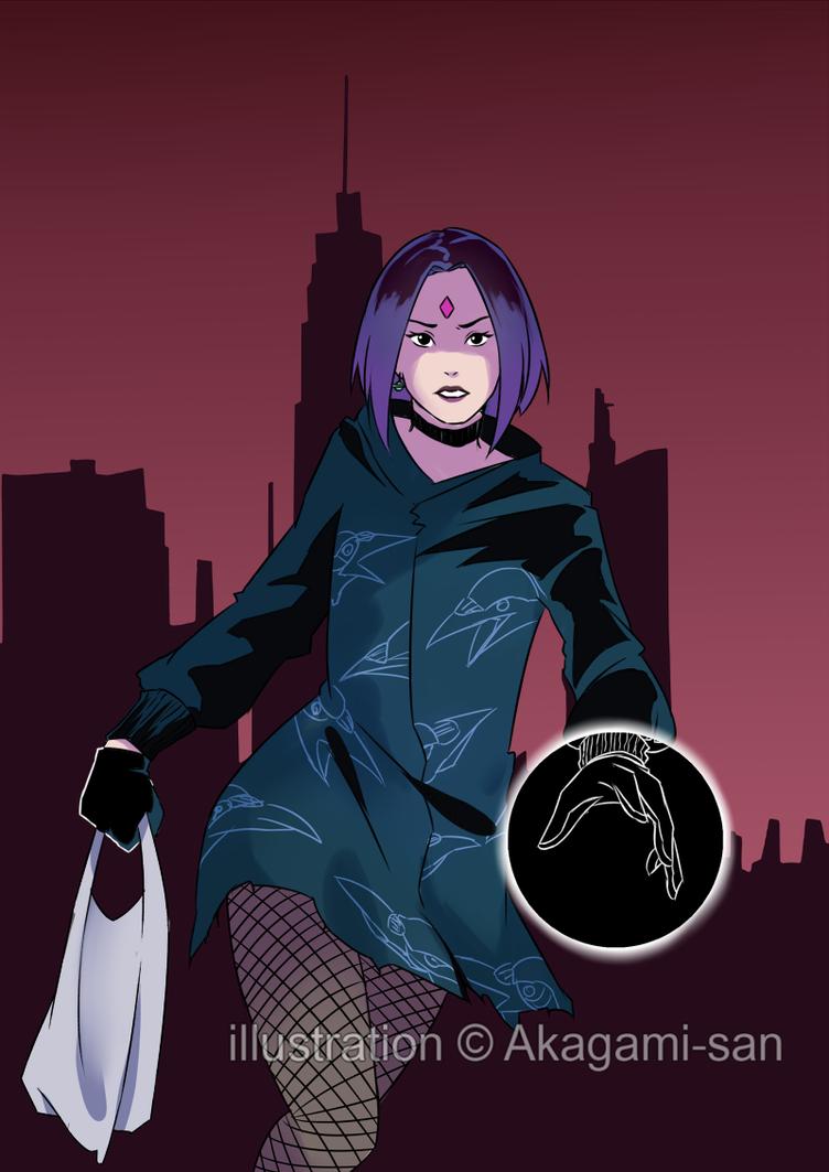 Fan art - Raven by Akagami-san
