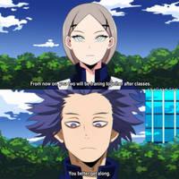 [BnhA] - first meet up by Akagami-san