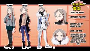 BNHA OC: Yuki Minami by Akagami-san