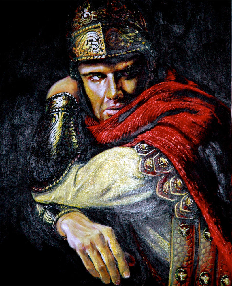 Coriolanus Shakespeare: CORIOLANUS WITH MY TOWEL By WJSolha On DeviantArt