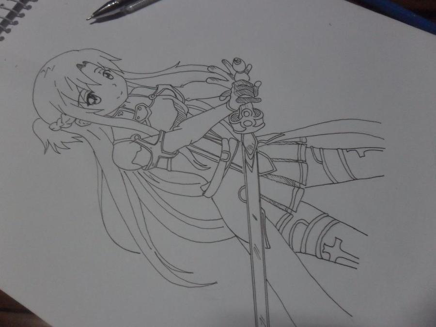 Asuna Yuuki Sword Art Online by Admin-GeneXis