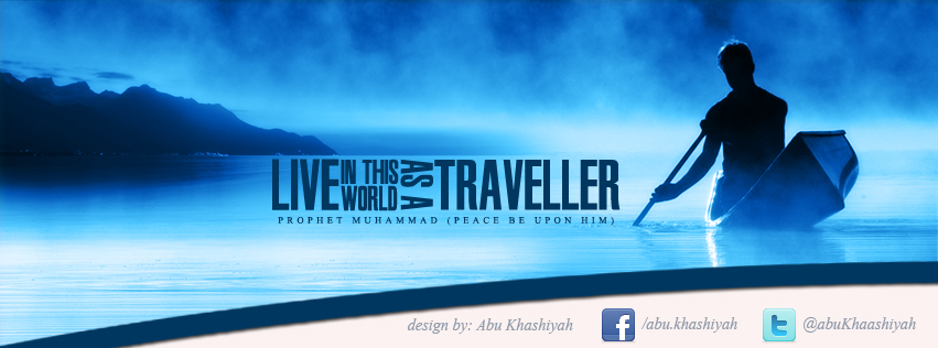 image of hadith of the traveller facebook timeline cover
