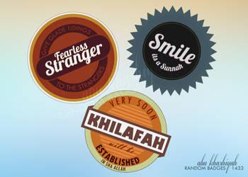Badges by abuKhashiyah