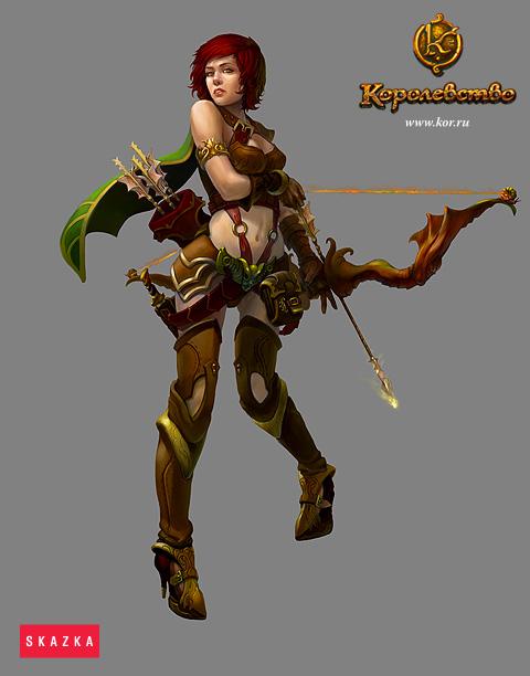 Archer female by AntonZemskov