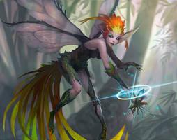 Fairy by AntonZemskov