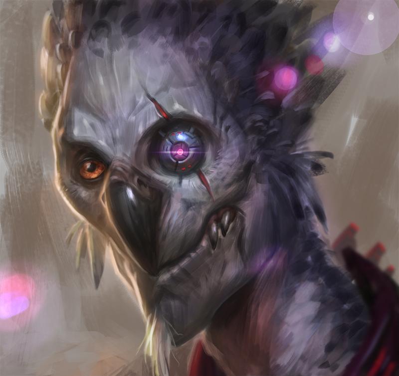 Tevarin avatar by AntonZemskov