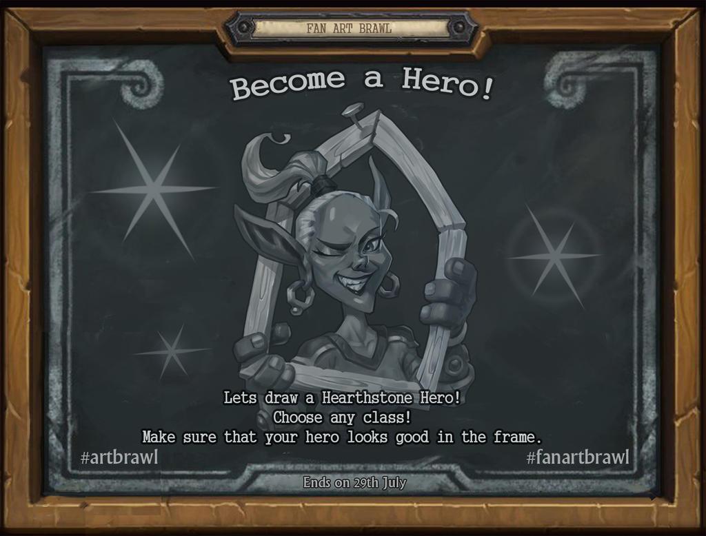 FanArt Brawl Hero by AntonZemskov