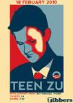 Teen Zu Obama Gig Poster