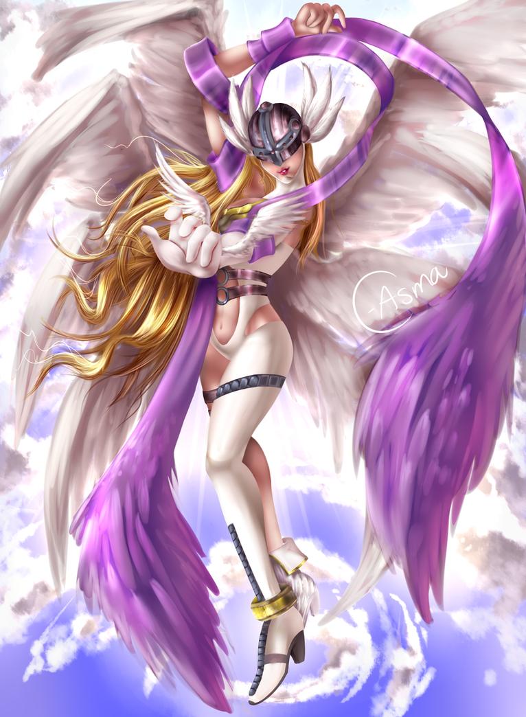 Angewomon by C-Asma