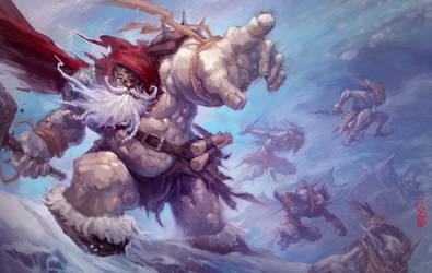 BattleSanta by Wreckonning