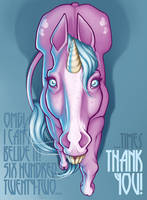 Unicorn's thanks by DarkTinebra