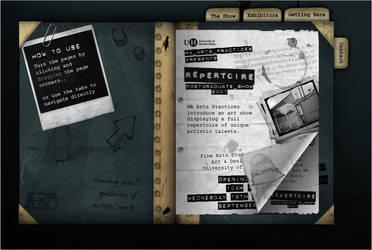 Repertoire 2007 Website by CyberMatt