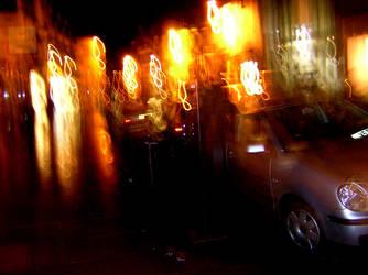 Abstract Streetlights by CyberMatt