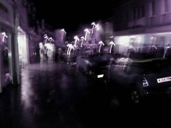 Abstract Streetlights 2 by CyberMatt