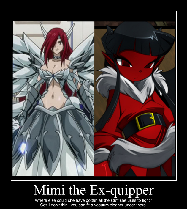 Mimi: The Ex-quipper of Grim Tales by CryptSonia on DeviantArt