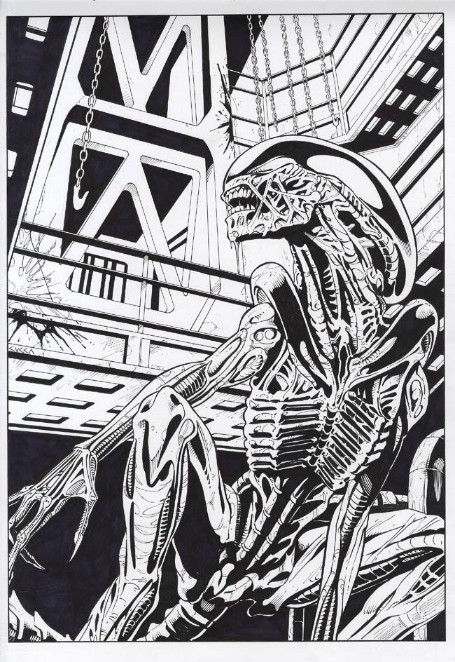 Alien by cuccadesign