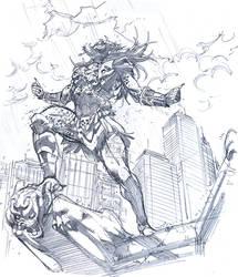 predator sketch