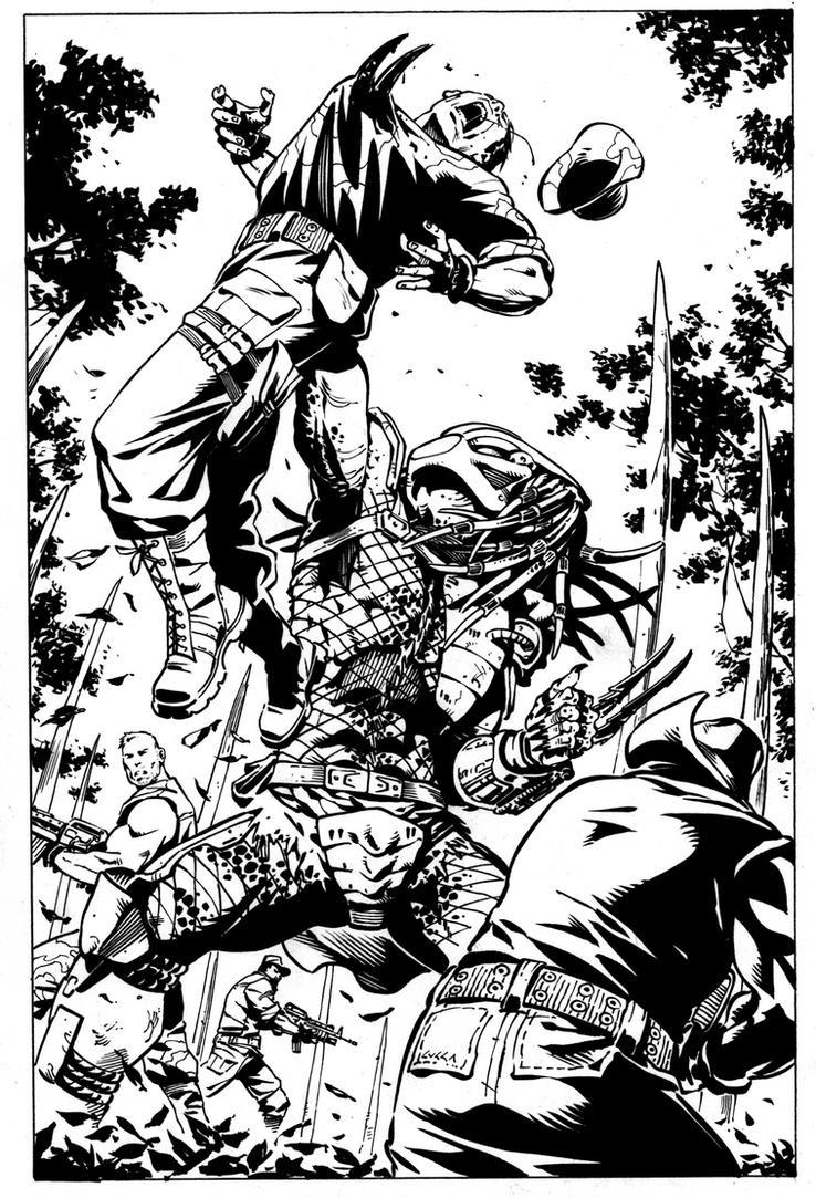 PAGE TEST  Predator Splash by cuccadesign