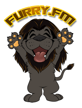 Furry.FM - Sticker