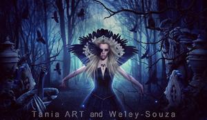 The Goddess of Ravens