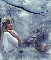 Santa Claus is Coming by TaniaART