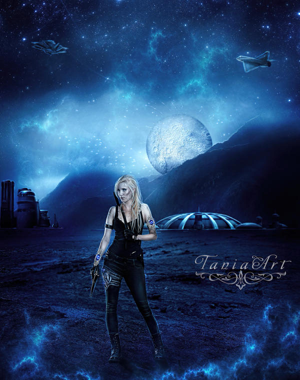 The New Planet by TaniaART