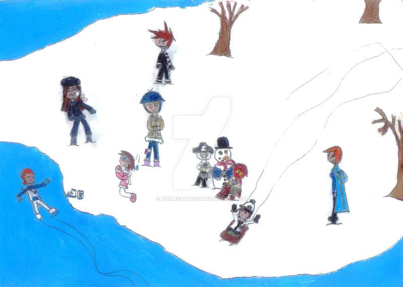 Start Of Winter 2007 by AnimeCartoon