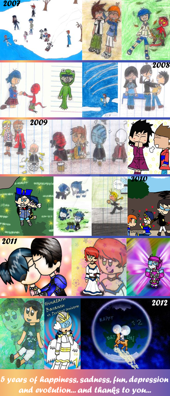 5 Years... by AnimeCartoon