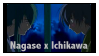 Nagase and Ichikawa by Scarecrow--Stamps