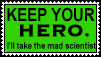 No Heroes - Mad Scientists by Scarecrow--Stamps
