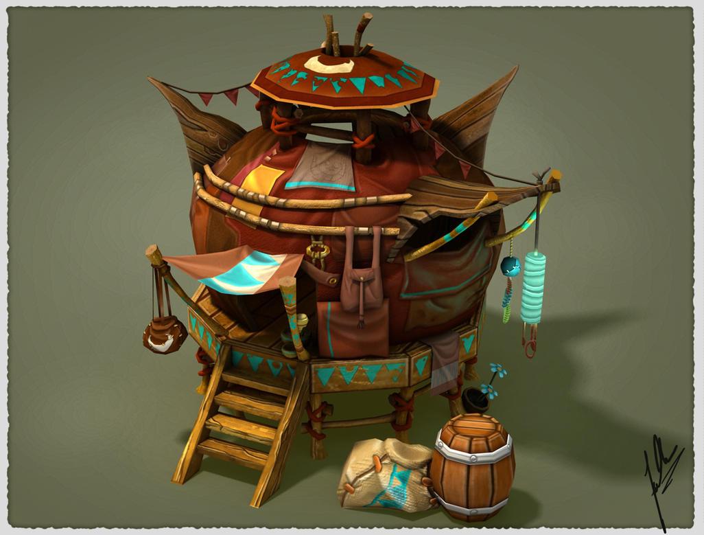 Fantasy House (Yurt) by fallonclarke
