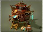 Fantasy House (Yurt)
