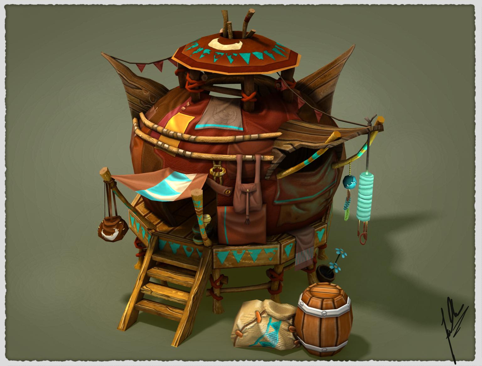 Fantasy House Yurt By Fallonclarke On Deviantart