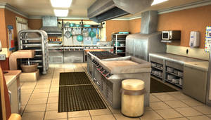 Cozy Kitchen by fallonclarke