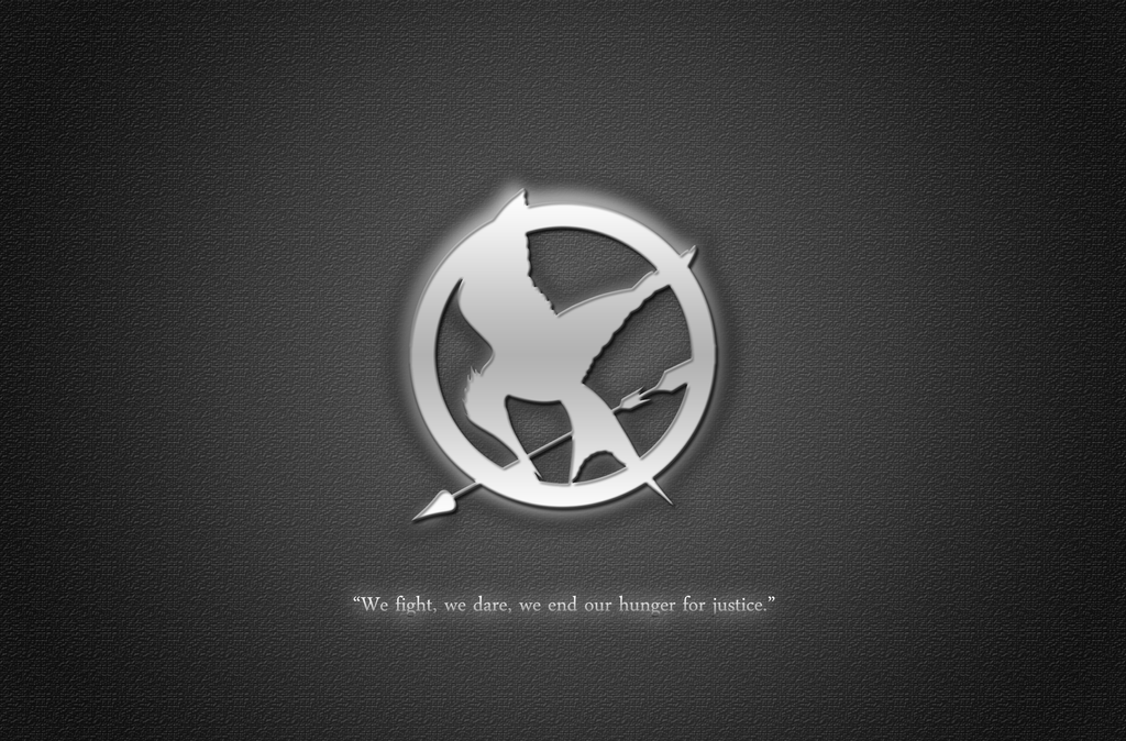 The hunger games wallpaper by struck br on deviantart the hunger games wallpaper by struck br voltagebd Image collections