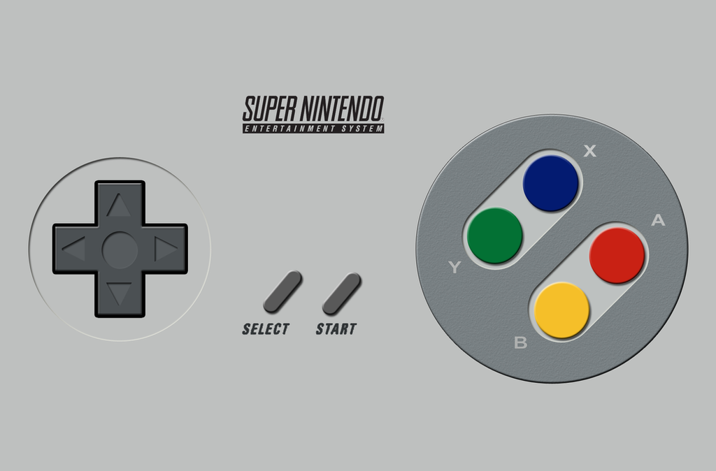 SNES Controller Wallpaper by Struck-Br on DeviantArt
