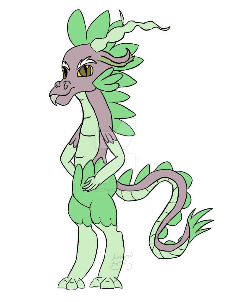 Quirky Shipping #1 Discord x Spike by ToxicDagger