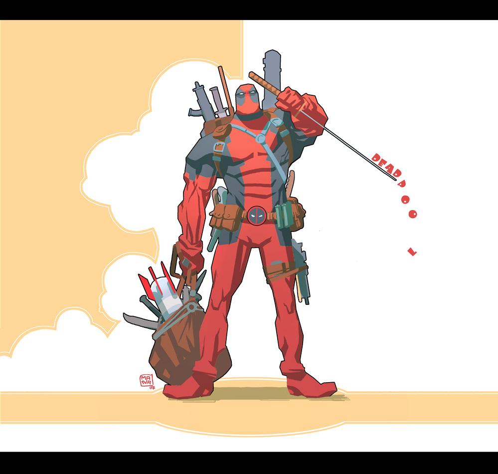 Really Cool Deadpool Illustrations