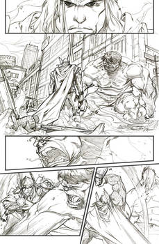 Thor Hulk and Runaways 1