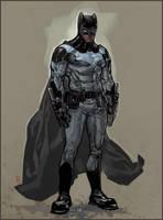 Batman redesign by ChristianNauck