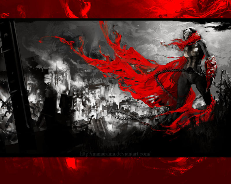 She Spawn Wallpaper By Holy