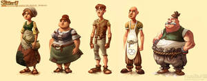 The Settlers 7 - more workers