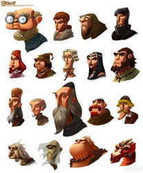 The Settlers portraits by ChristianNauck