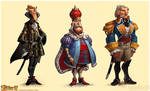 The Settlers 7 story charas 2