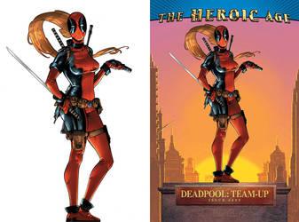Lady Deadpool Cover by ChristianNauck