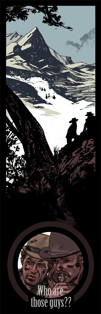 Butch Cassidy and Sundance Kid by ChristianNauck