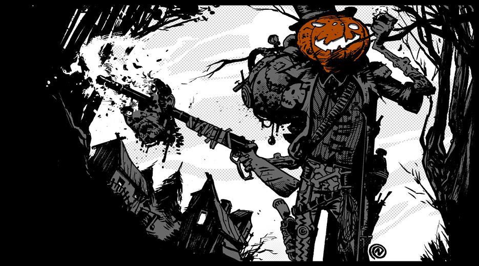 Gunslinger Pumpkin