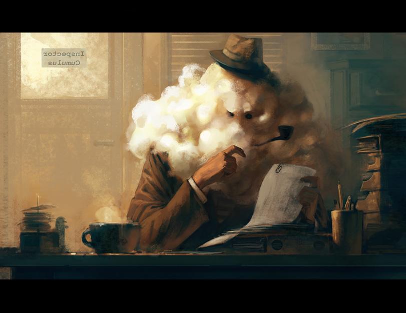 Inspector Cumulus by ChristianNauck